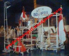 """""""SiFAA"""" Tim Robot Indonesia di Seoul Korea 2004"""