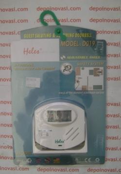 Bel + Alarm Sensor Gerak (PIR) D019