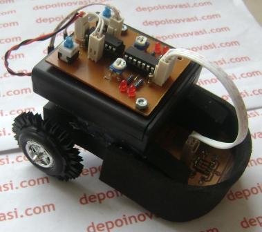 Jual Robot Line Follower Analog Edukasi 171 Depoinovasi