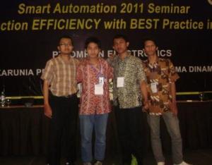 Depoinovasi Electronics @ Smart Automation Seminar 2011