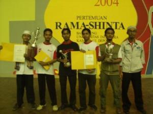 Juara KRI 2004, Balairung UI, Depok