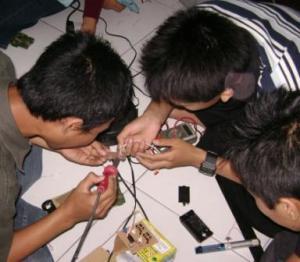 training-line-tracer-pelajar