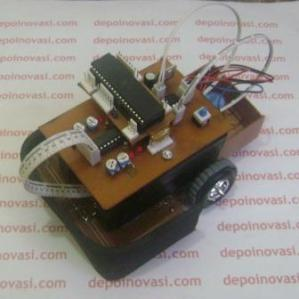 Line Tracer Mikrokontroller ATmega16