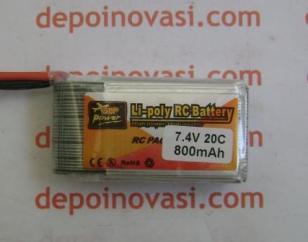 Battery LiPo 7,4v