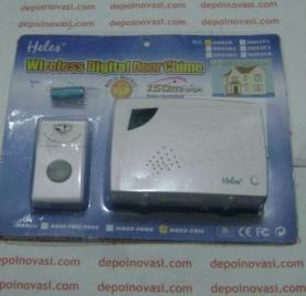 bel rumah digital wireless