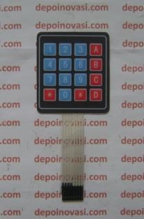 Keypad Tipis 7x7