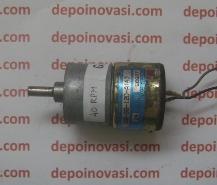 Motor DC gear Standart Type Q