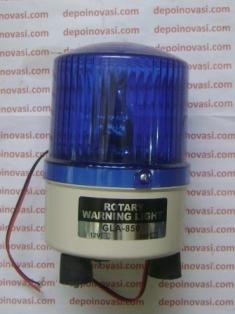 Rotary Lamp Warna Biru
