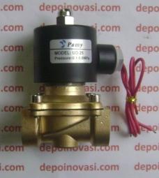 Kran Elektrik Metal Base AC 220V 3/4″