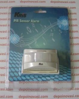 Bel Alarm Sensor Gerak 12 Suara
