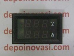 Volt Meter Ampere Meter DC Digital