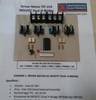 Driver Motor Mosfet 15A