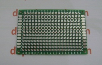pcb-through-hole-double-layer