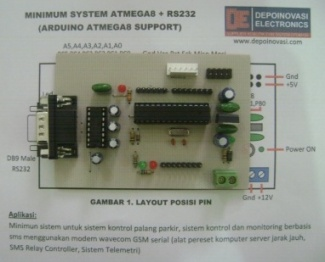 minimum-sistem-atmega8-RS232-arduino