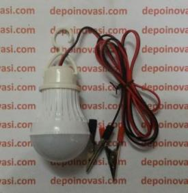 Lampu Led Bulb 5W DC 12V Model Jepit