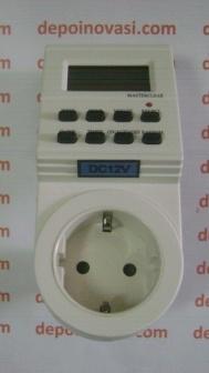 stopkontak timer digital DC12V