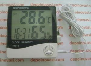 thermo-hygro-clock