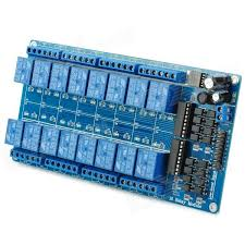 16 Channel Relay Module 12 Volt