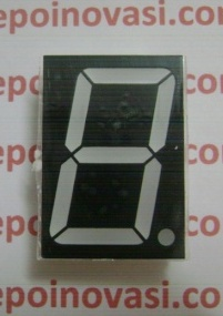 "1.5"" 1 Digit Seven segment common cathode"