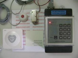 Electronic Doorlock lengkap RFID