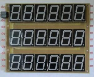 "Display 7 Segmen 1,5"" 6 Digit 3 Baris"