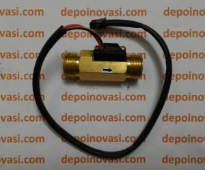 Flow Sensor Kuningan G1/2 Pertamini