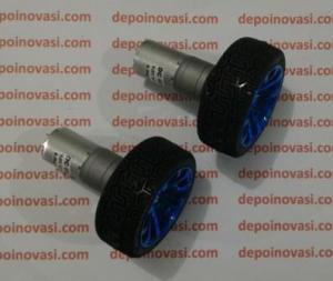 motor dc geared 12V beroda