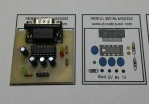 Modul Serial RS232 Male to TTL