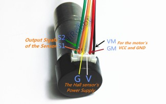 Wiring Diagram Motor Encoder 250 rpm