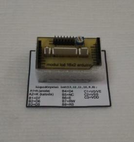 Modul LCD Arduino