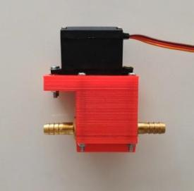 servo driven control valve
