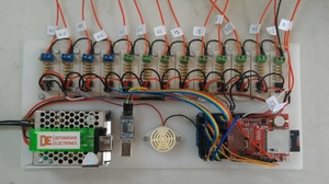Battery Monitoring System 15 Cell + Datalogger dan Buzzer