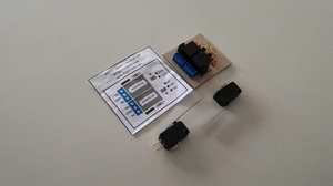 Modul dan Limit Switch Perangkat Penggerak Palang Parkir