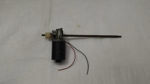 Motor DC Geared Worm + AS panjang