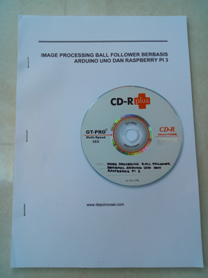 Buku Modul Image Processing Ball Follower Raspberry Pi