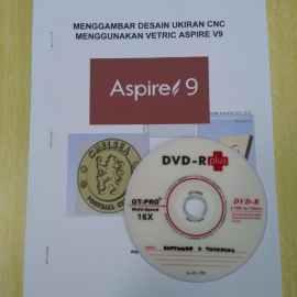 Buku dan DVD Kursus Penggunaan Software Vetric Aspire
