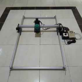 CNC Router DEPO 3DPXCNC area kerja 100x60 cm Tuner 530W