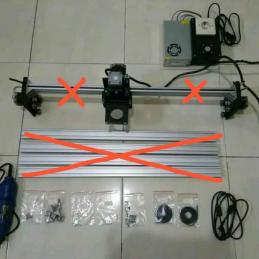 CNC Router DEPO 3DPXCNC area kerja 60x40 cm tanpa Frame