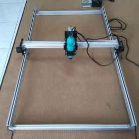 CNC Router DEPO 3DPXCNC area kerja 100x80 cm