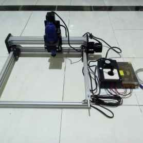cnc router pcb area kerja 30x30 cm tuner 130w